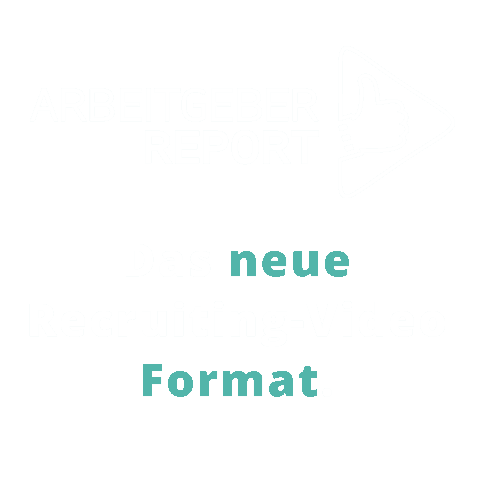 Illustration ArbeitgeberREPORT - Das neue Recruiting-Video Format