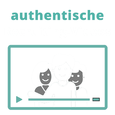 Illustration authentische Recruiting-Videos