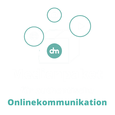 Grafik Medienpaket für authentische Onlinekommunikation