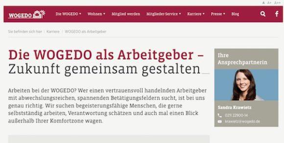 Beispiel für Employer Branding im Mittelstand: Die WOGEDO in Düsseldorf